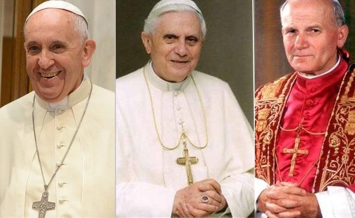 Los tres últimos pontífices han reconocido el movimiento de Kiko Argüello