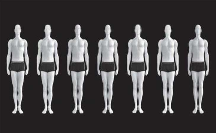 Modelos másculinos de belleza física