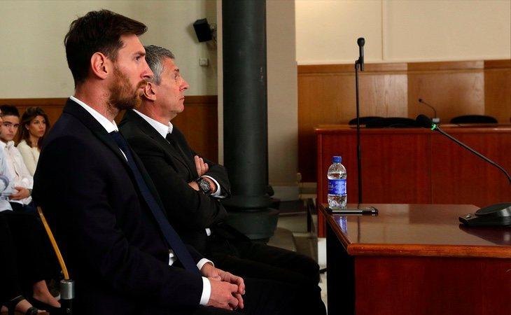 Messi vivió una situación similar a la de Cristiano Ronaldo