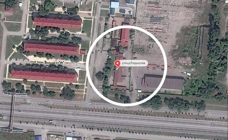 Uno de los campos de concentración para homosexuales en Chechenia