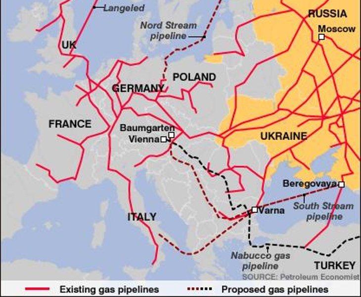 El gas ruso es una de sus armas diplomáticas más efectivas