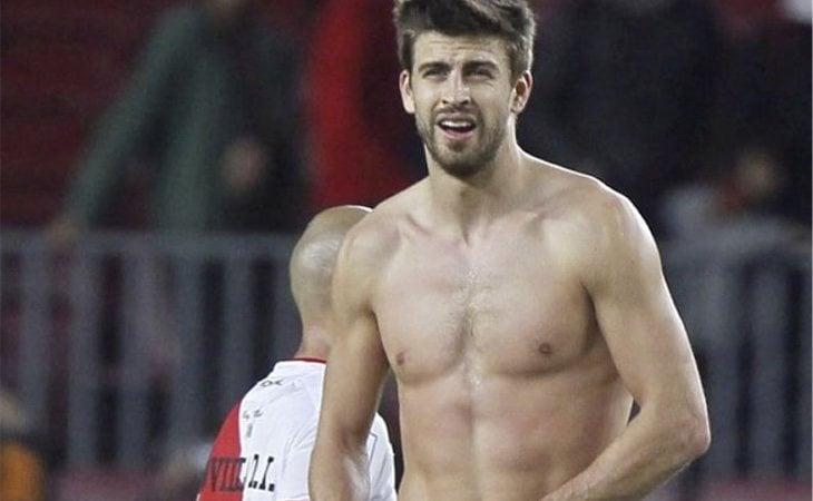 Piqué es uno de lso jugadores españoles más sexys