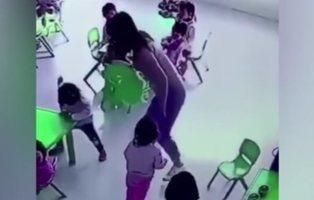 La violencia de una maestra de guardería hacia una niña levanta una ola de indignación
