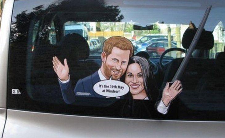 Saludando desde tu coche