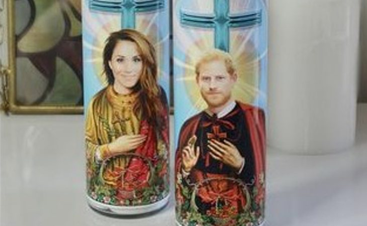 San Harry y Santa Meghan