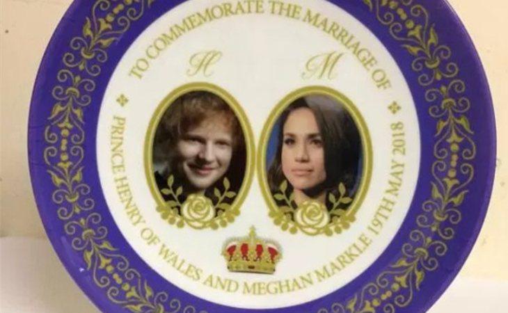 Ed Sheeran se casa con Meghan Markle