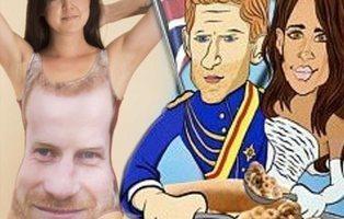 Los artículos de merchandising más locos de la boda del príncipe Harry y Meghan Markle