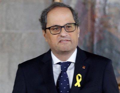 Quim Torra nombra consellers a los fugados Puig y Comin y a los encarcelados Rull y Turull