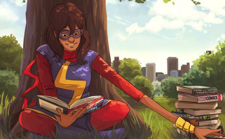 Su afición por los cómics le lleva a ser superheroína