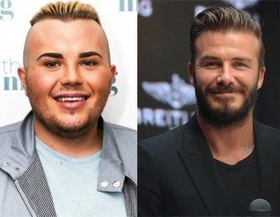 Un joven en paro se gasta 23.000 euros en operaciones para parecerse a Beckham y el resultado es terrible
