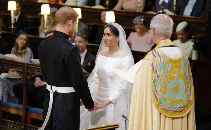 Meghan Markle y el príncipe Harry omitieron el voto de obediencia el dia de su boda