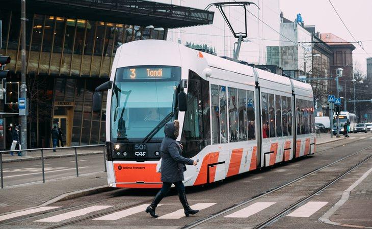 El transporte público, gratuito en Estonia