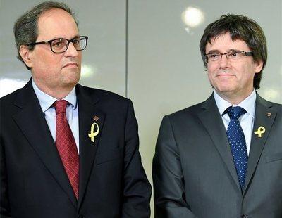 Quim Torra pagará con dinero público sus viajes a Alemania para visitar a Puigdemont