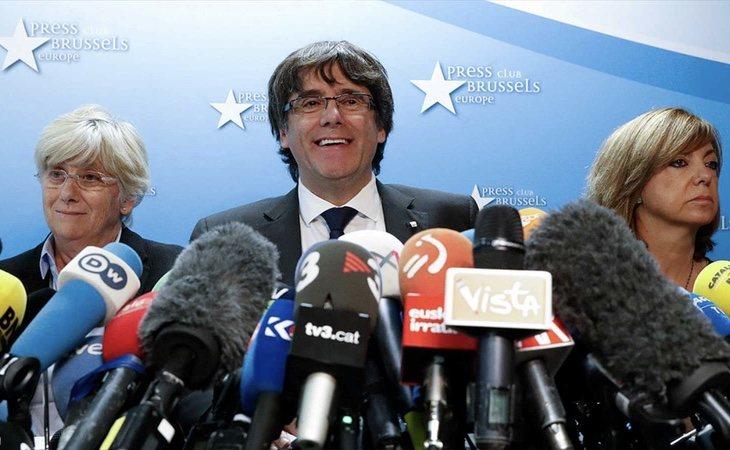 Valtonyc intenta seguir una estrategia similar a la del expresident Carles Puigdemont