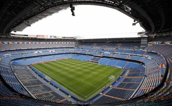 El palco del Bernabéu podría haber sido el centro de algunos negocios
