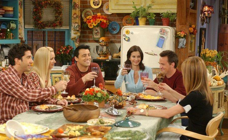 Los protagonistas de 'Friends' siempre han sido una gran familia