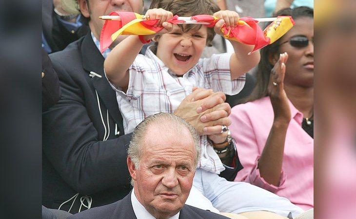 Los froilanistas reclaman que el sucesor de Juan Carlos debería haber sido Froilán
