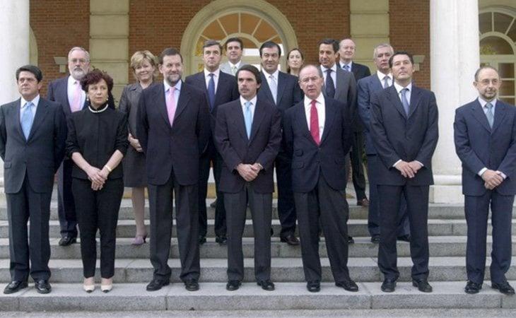 Ejecutivo de José María Aznar presentado el 12 de julio de 2002