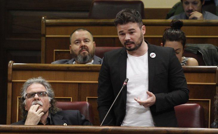 ERC apoyará la moción de censura contra Rajoy