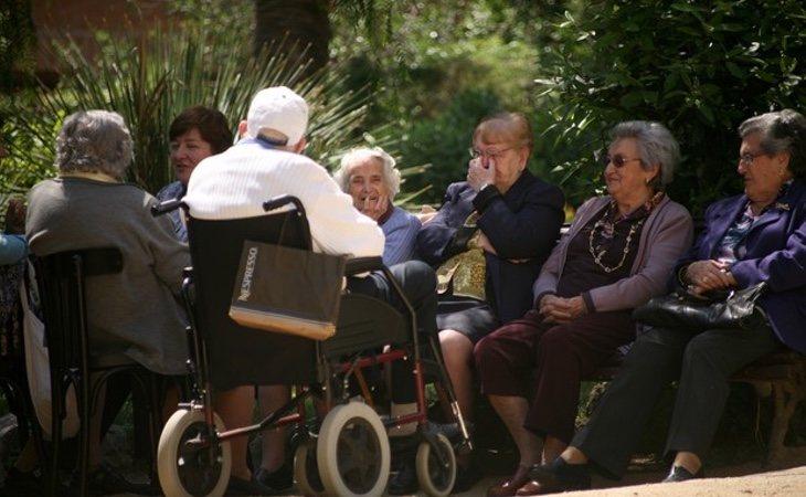 Los jubilados han salido a la calle para reclamar la subida de las pensiones