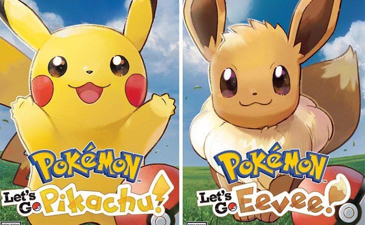 Pokémon: Let's Go, Pikachu! yPokémon: Let's Go, Eevee!