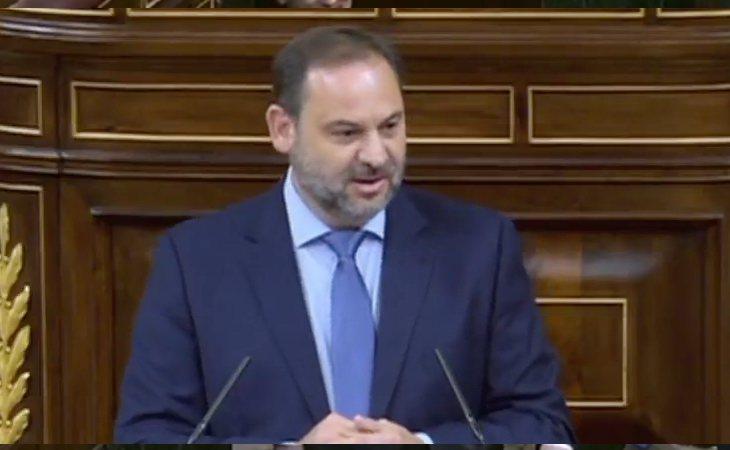 José Luis Ábalos, secretario general del PSOE, defiende la moción de censura: 'La sentencia ha desatado una inmensa indignación entre los ...