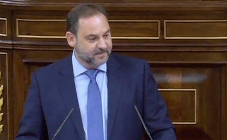 Ábalos: 'Es una moción de censura a favor de sacar a la corrupción de la política y de volver a hablar de la ciudadanía'