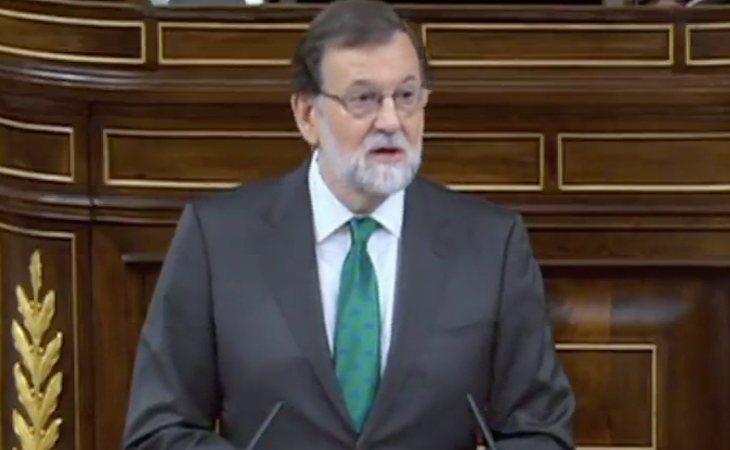 Rajoy empieza su discurso atacando al PSOE