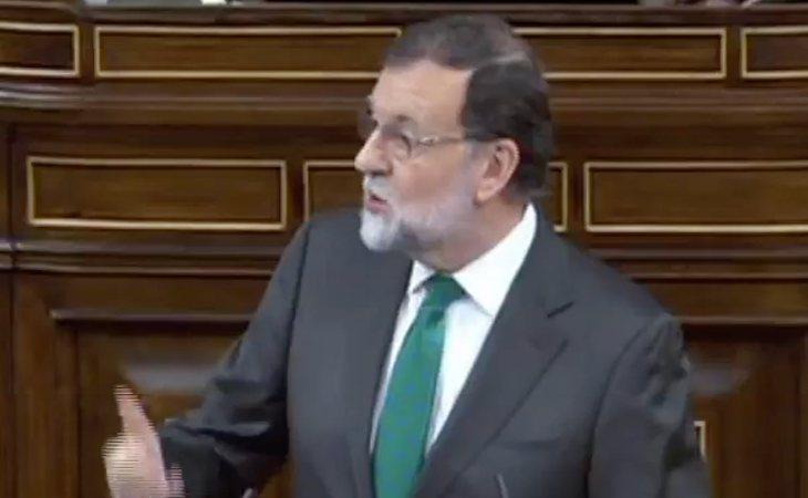 Rajoy se pone chulo: 'Ustedes no pueden traer ningún argumento para que salga adelante la moción de censura'