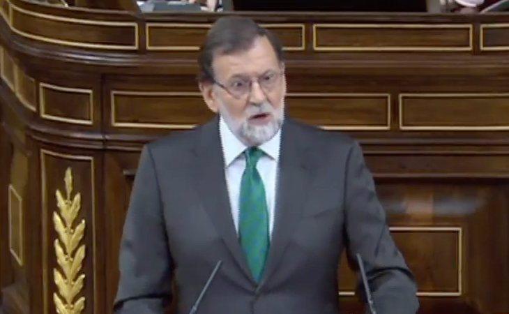 Rajoy: 'Toda la justificación de la moción se basa en la manipulación de una sentencia'