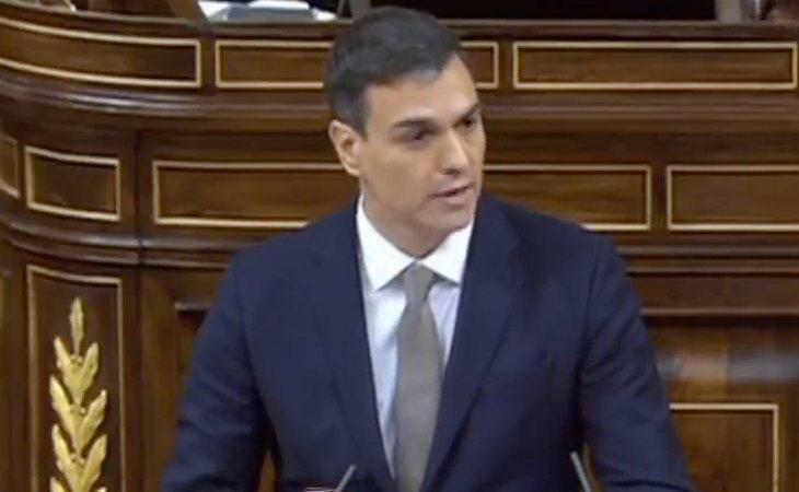 Turno de Pedro Sánchez: 'Los hechos son gravísimos y han sacudido a la opinión público a base de bochorno'