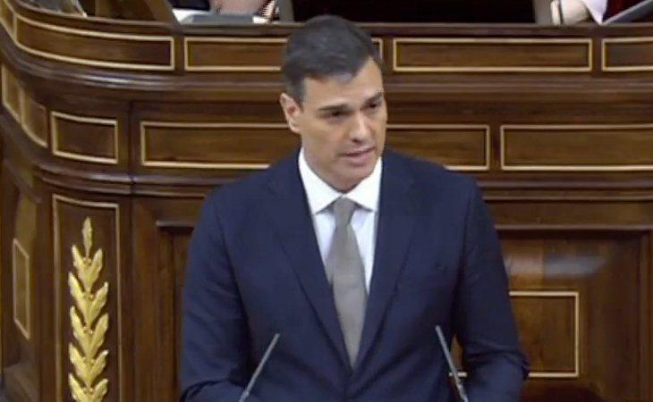 Pedro Sánchez: 'Mi Gobierno buscará un consenso hasta convocar las elecciones'