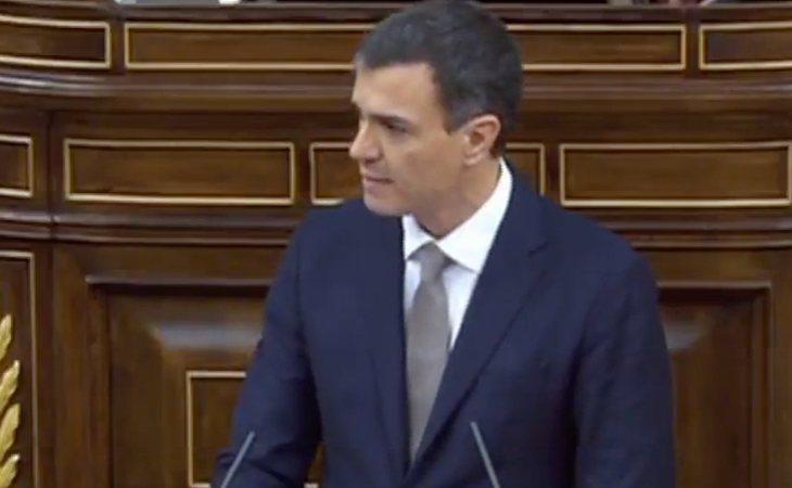 Pedro Sánchez anuncia que si se convierte en Presidente del Gobierno mantendrá los Presupuestos Generales del Estado