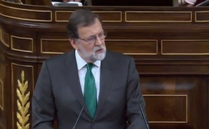 Rajoy, a Sánchez: 'A usted no le importa los españoles. Lo único que le preocupa es poner zancadillas al Gobierno'.