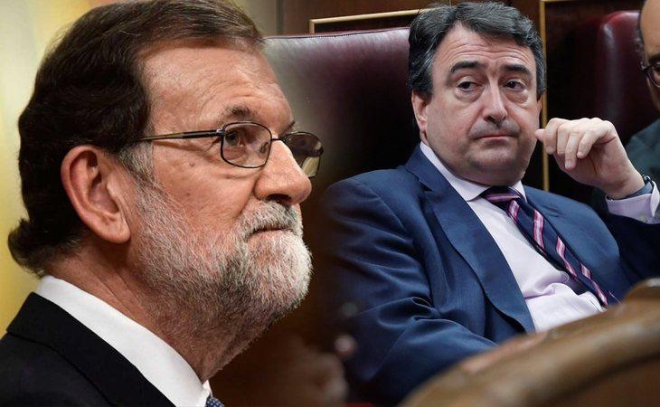 El PNV ya ha tomado una decisión sobre su voto en la moción contra Rajoy. La anunciará Aitor Esteban en su intervención de la tarde