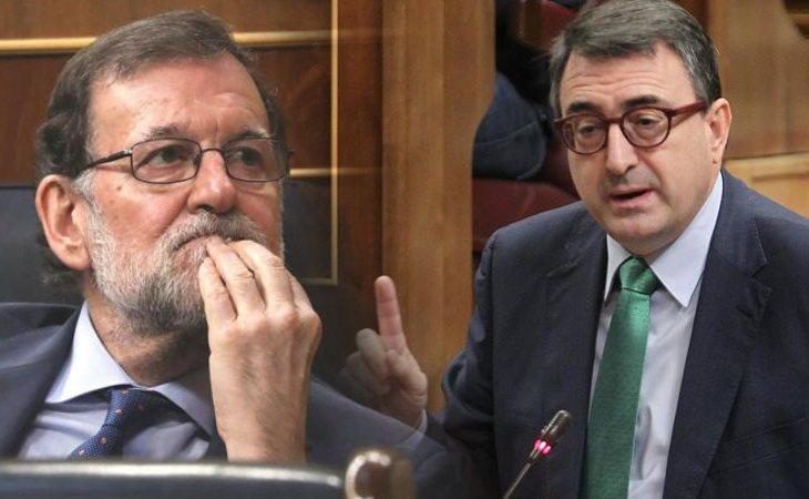 El PNV apoyará la moción de censura si Rajoy no dimite