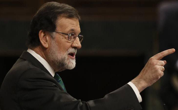 Mariano Rajoy se niega a acudir por la tarde al debate de la moción de censura