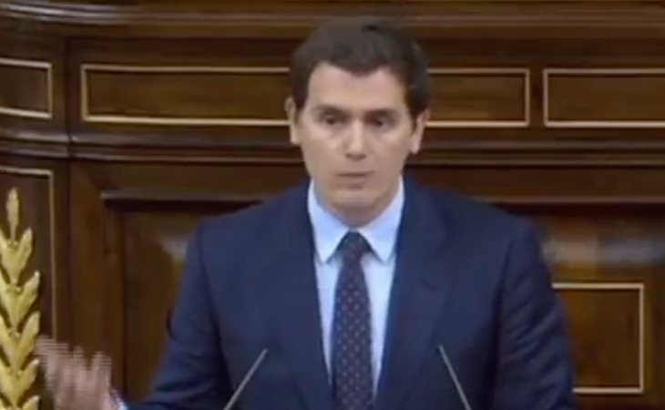 Turno de Albert Rivera: