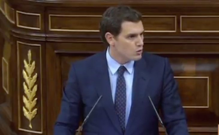 Ciudadanos no apoyará la moción de censura porque cuenta con los apoyos de ERC, PdeCAT y Bildu