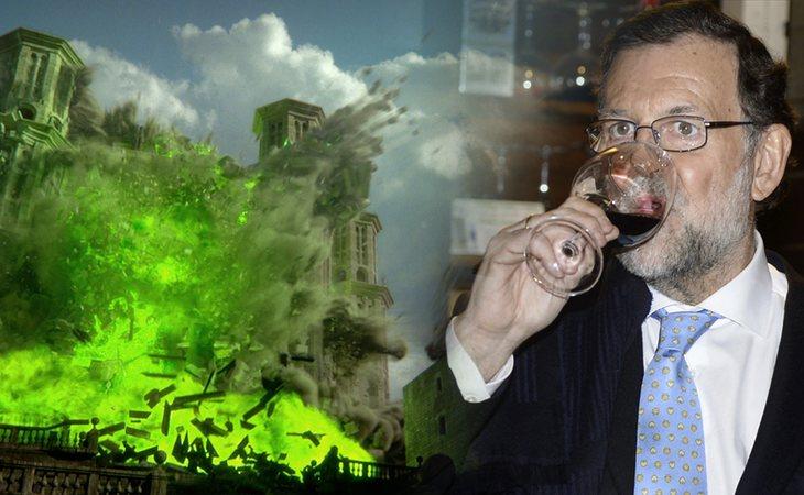 Rajoy no ha acudido esta tarde al debate de la moción de censura... ¿Os imagináis que...?