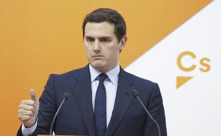 La moción de censura no beneficia a Albert Rivera
