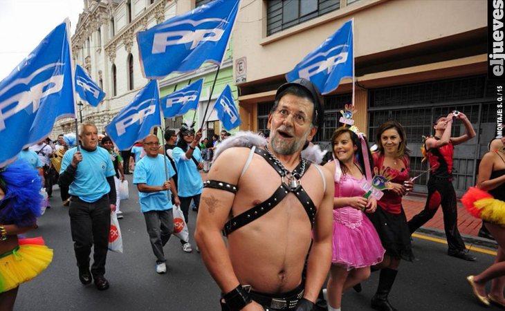 Rafael Hernando se viene arriba: 'Es un orgullo ser del PP' ¿Para cuándo día del Orgullo PPero?