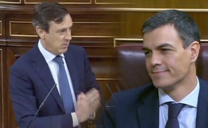 Rafael Hernando ataca a Sánchez: 'Los españoles le han dicho que no le quieren'