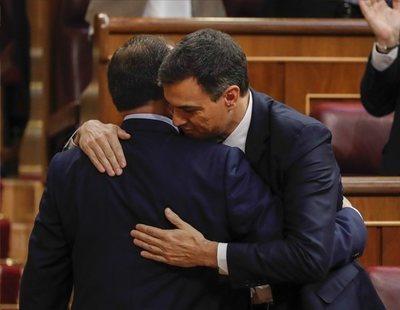 Pedro Sánchez, nuevo presidente del Gobierno tras la caída de Mariano Rajoy