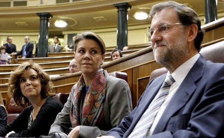 Rajoy ha creado una estructura piramidal en el PP