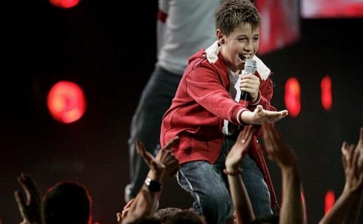 Antonio José en Eurovision Junior 2005