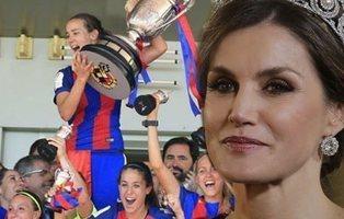 Fútbol femenino: en evidencia las ausencias de la reina en la final de la Copa de la Reina