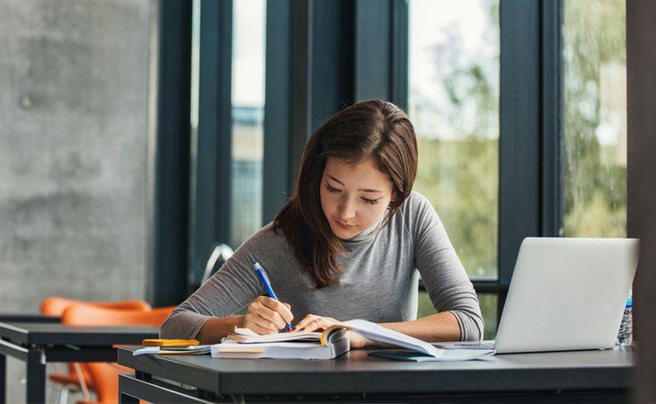 Busca un buen lugar para estudiar