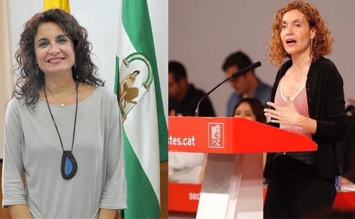 María Jesús Montero y Meritxell Batet
