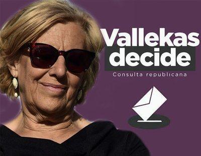 Carmena autoriza que Vallecas celebre un referéndum para decidir entre monarquía o república